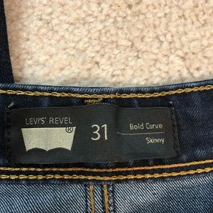 Levi's revel bold curve skinny